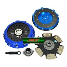 PSI STAGE 4 CLUTCH KIT+FORGED RACE ALUMINUM FLYWHEEL LANCER EVO EVOLUTION 7 8 9