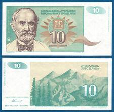 JUGOSLAWIEN / YUGOSLAVIA 10 Dinara 1994 UNC  P.138