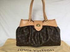 Authentic Louis Vuitton Monogram Boetie MM Shoulder Handbag