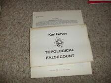 Topical False Count Karl Fulves Workshop Series No 2 1979