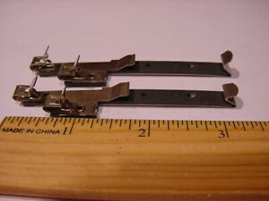Track Power Clips - (2) - Two Rail   American Flyer - Kunsan Electric - S Scale