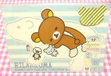 San-X Rilakkuma White Bear Letter Set / Made in Japan 2014
