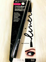 BUY 2, GET 1 FREE (add 3 to Cart) Maybelline Masterdrama Pencil #300 Black Spark