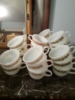 Lot Of 19 Mix Match Pyrex Milk Glass Mugs Corning ware mugs cups