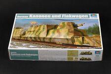 Trumpeter 1/35 Kanonen und Flakwagen #01511 #1511 *New*