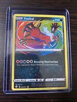 Pokemon Shining Fates Amazing Rare Holo Yveltal 046/072 Pack Fresh NM/Mint