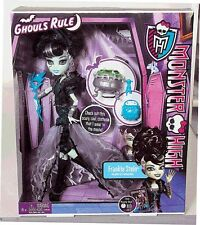 NEW! MONSTER HIGH FRANKIE STEIN GIFT SET GHOULS RULE DOLL CLOTHES ACCESSORIES