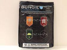 Destiny Rise of Iron Class Quest Pin SET x4 Titan Hunter Warlock + Bonus Bungie