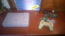 SONY PLAYSTATION 1 PS1 SCPH-5552 & 5 GAMES TOMB RAIDER #RB67 BOXED