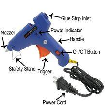 Hot Melt Glue Gun 100W 11mm Safety Led Light Indicator Melting Adhesive Handmade
