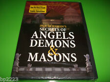 Dan Burstein's SECRETS OF ANGELS DEMONS & MASONS DVD-Go Beyond The Da Vinci Code