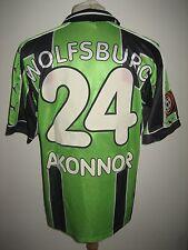 VfL Wolfsburg MATCH WORN football shirt soccer jersey trikot fussball size M
