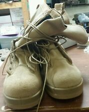 NWOT US Military Belleville 330 Desert Steel Toe Flight Boots Size 12.0W