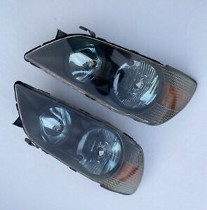 FOR LEXUS IS200 IS300 Altezza TRD headlights black mask blue background