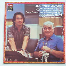 MAURICE ANDRE Haydn Telemann .. RICCARDO MUTI Philharmonia orchestra 270269 1
