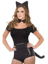 # sexy donna Nero SET GATTO PER HALLOWEEN FESTA IN MASCHERA ADULTO (SOLO The