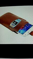 Bolsa De Bolsillo Manga Bolsa Para Samsung Galaxy S6/S5/S4/S3 Caso de cuero de imitación
