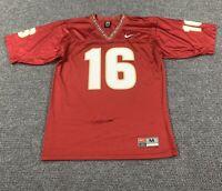 Vintage Y2K M Nike Team Florida State University Seminoles Football Jersey #16