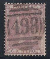 Großbritannien 1856 Mi. 14 Gestempelt 40% 6 P, Königin