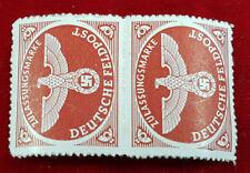 Deutsches Reich 2x Briefmarke Zulassungsmarke Deutsche Feldpost Postfrisch (1B2)