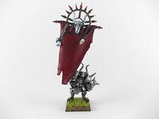 Standartenträger - Standard Bearer der Krieger des Chaos - bemalt Metal limited