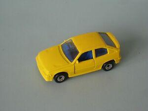 Matchbox Vauxhall Astra GTE Yellow Body RARE 65mm Toy Model Car UB Opel Kadett