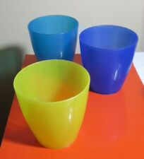 Set Of 3 Plastic Cups, IKEA  Micro 248F( 120C) Dishwasher safe, by Monika Mulder