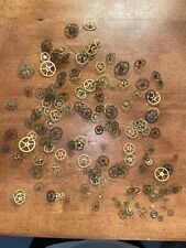 Antique Vintage Lot of Clock Watch G 00004000 ears Parts Repair Steampunk Estate Approx100