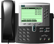 Cisco 7960 IP VoIP Business Office Phones CP-7960G w/ power supply