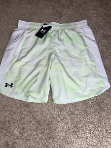 NWT Boy's Under Armour UA X-Level Shorts Gray Green Size M, L, XL  MSRP $30