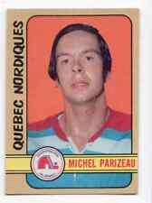 1X MICHEL PARIZEAU 1972 73 O Pee Chee WHA #335 EXMT opc Quebec Nordiques