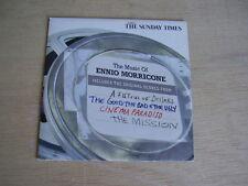 THE MUSIC OF ENNIO MORRICONE FISTFUL OF DOLLARS ETC - 10 THEME TRACKS - PROMO CD