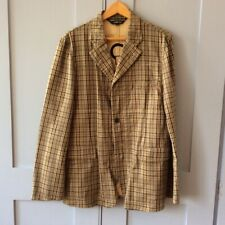 Comme des Garcons checked jacket with surpise lining!