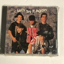 New Kids On The Block Let's Try It Again Rare 1990 Promo New Factory Sealed