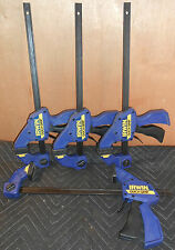 4 NEW Irwin Quick-Grip SL300 Heavy Duty Woodworking Bar Clamps / Spreaders *USA*