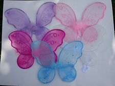 ~*12 SPARKLING  BUTTEFLY FAIRY  WINGS~TINKERBELL ANGEL