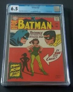 BATMAN #181 • 1ST POISON IVY • CGC 6.5