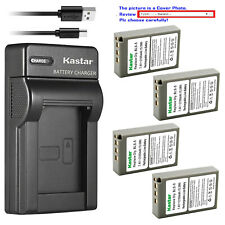 Kastar Battery Slim USB Charger for Olympus BLS-5 & Olympus E-PM2 EPM2 Camera