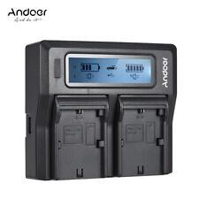 Andoer LP-E6 DC Digital Camera Battery Charger for Canon  5DS 6D 70D 80D J5E1