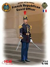 q ICM 16004 - French Republican Guard Officer  (Scala 1/16)