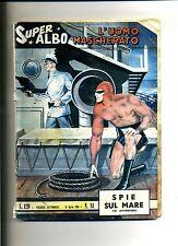 SUPER ALBO # L'UOMO MASCHERATO #SPIE SUL MARE # N.81 Aprile 1964#Spada