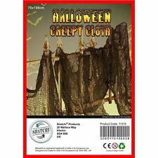 1 Creepy Cloth Black Net Halloween Scary Decoration Prop Drape Hang Party Decor