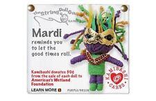 Kamibashi Mardi Gras The Original String Doll Gang Keychain Clip