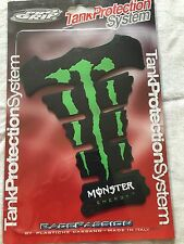 Honda Yamaha Kawasaki Suzuki Monster Energy Tank Protection system (Green)