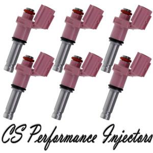 OEM DENSO Benzin Injektoren Set (6) Für 2013-2015 Lexus GS350 3.5L V6 13 14 15