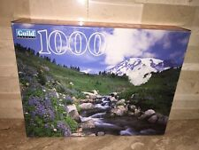GUILD 1000 PC JIGSAW PUZZLE EDITH CREEK WASHINGTON