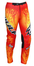 Kids Wulfsport Firestorm Trials Trousers Red
