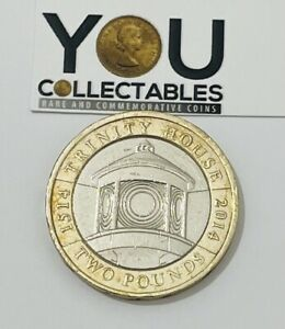2014 £2 Pound Coin 500th Anniversary of Trinity House  - Highly Collectable Coin