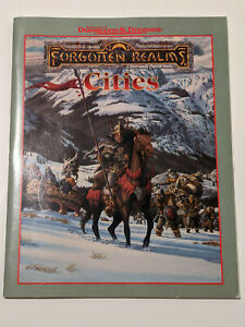 AD&D Forgotten Realms Campaign Expansion Cities 1996
