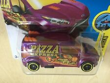 Hot Wheels New Toy Model Van Ford Transit Connect PIZZA EXPRESS Purple Sealed